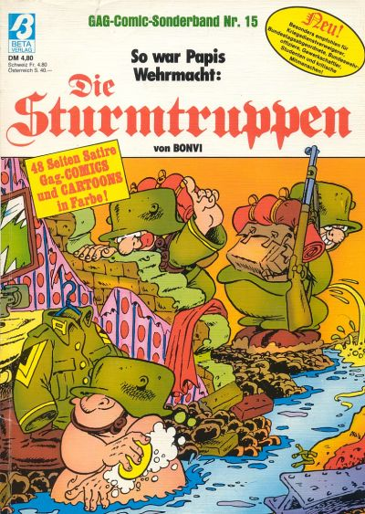 Cover for Die Sturmtruppen (Condor, 1978 series) #15