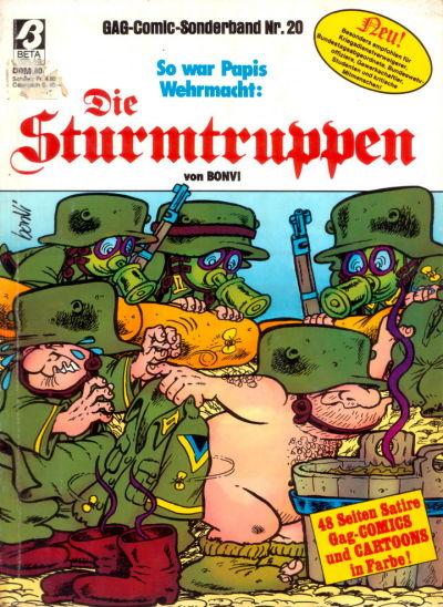 Cover for Die Sturmtruppen (Condor, 1978 series) #20