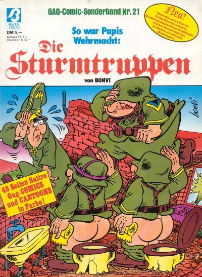 Cover for Die Sturmtruppen (Condor, 1978 series) #21