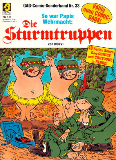 Cover for Die Sturmtruppen (Condor, 1978 series) #33