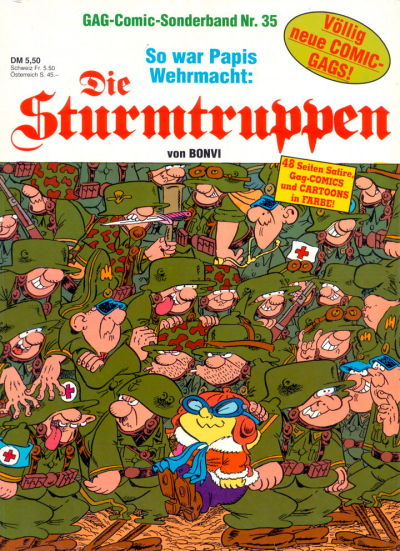 Cover for Die Sturmtruppen (Condor, 1978 series) #35