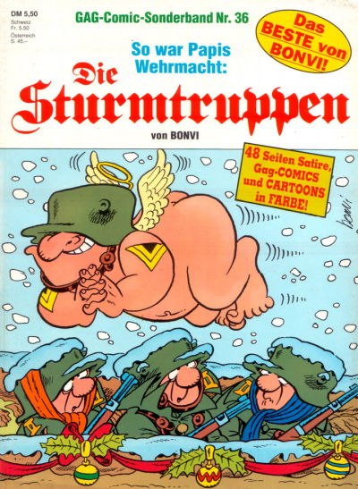 Cover for Die Sturmtruppen (Condor, 1978 series) #36