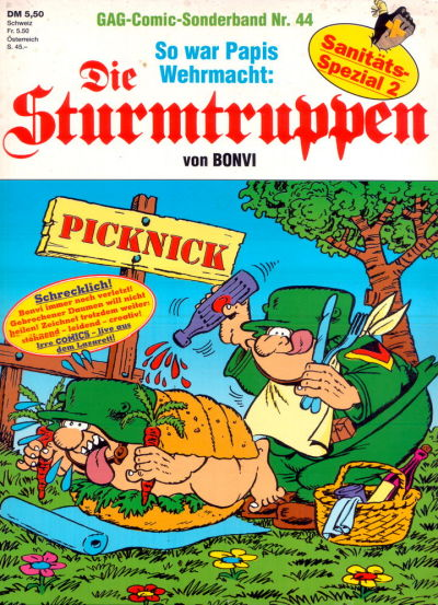 Cover for Die Sturmtruppen (Condor, 1978 series) #44