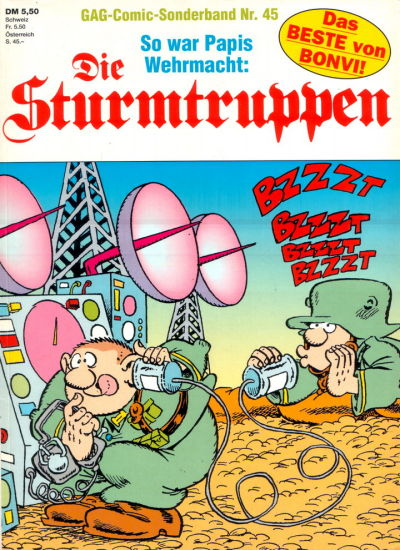 Cover for Die Sturmtruppen (Condor, 1978 series) #45