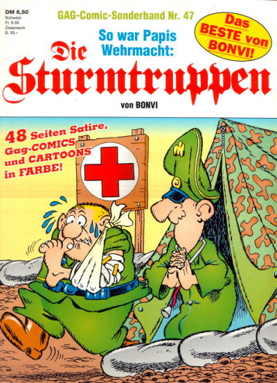 Cover for Die Sturmtruppen (Condor, 1978 series) #47