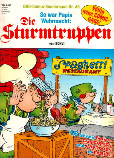 Cover for Die Sturmtruppen (Condor, 1978 series) #48