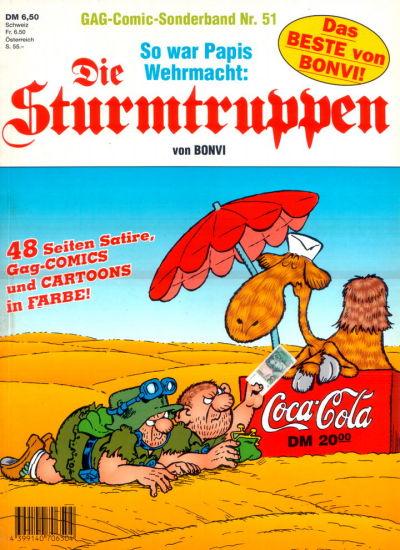 Cover for Die Sturmtruppen (Condor, 1978 series) #51