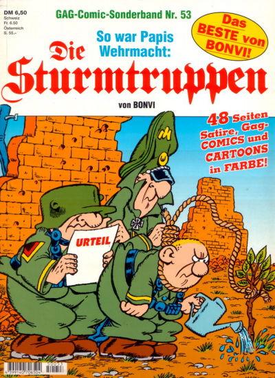Cover for Die Sturmtruppen (Condor, 1978 series) #53