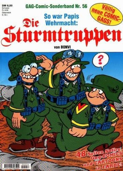 Cover for Die Sturmtruppen (Condor, 1978 series) #56