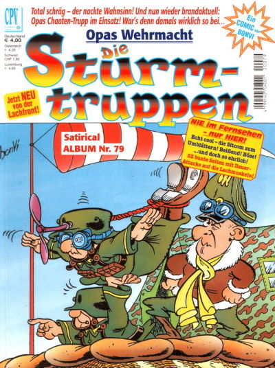 Cover for Die Sturmtruppen (Condor, 1978 series) #79