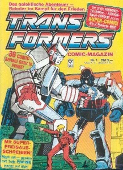 Cover for Transformers (Condor, 1989 series) #1