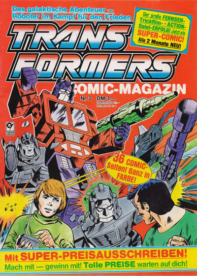 Cover for Transformers (Condor, 1989 series) #2