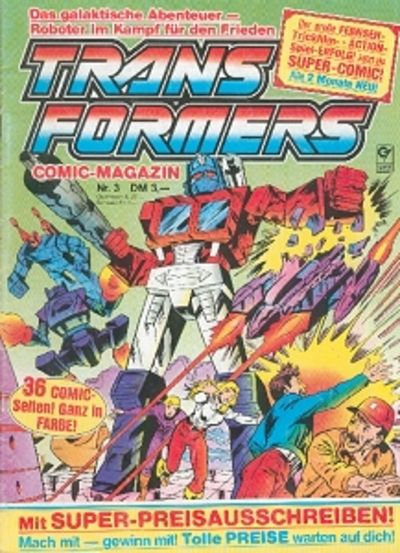 Cover for Transformers (Condor, 1989 series) #3
