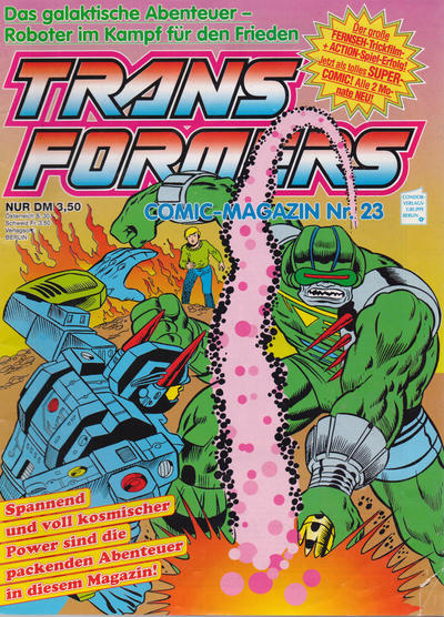 Cover for Transformers (Condor, 1989 series) #23