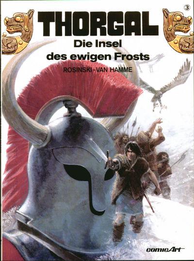 Cover for Thorgal (Carlsen Comics [DE], 1987 series) #3 - Die Insel des ewigen Frosts