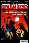 Cover for Dylan Dog (Carlsen Comics [DE], 2001 series) #7 - Morgendämmerung der Untoten