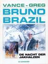Cover for Bruno Brazil (Le Lombard, 1994 series) #5 - De nacht der Jakhalzen