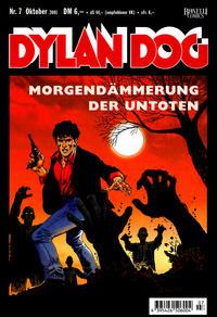 Cover Thumbnail for Dylan Dog (Carlsen Comics [DE], 2001 series) #7 - Morgendämmerung der Untoten