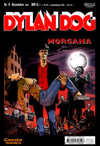 Cover Thumbnail for Dylan Dog (Carlsen Comics [DE], 2001 series) #9