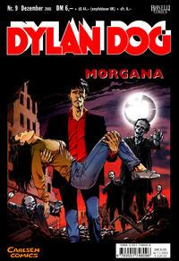 Cover Thumbnail for Dylan Dog (Carlsen Comics [DE], 2001 series) #9 - Morgana