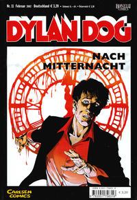 Cover Thumbnail for Dylan Dog (Carlsen Comics [DE], 2001 series) #11 - Nach Mitternacht