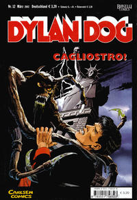 Cover Thumbnail for Dylan Dog (Carlsen Comics [DE], 2001 series) #12 - Cagliostro