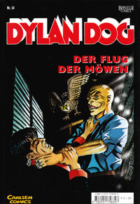 Cover Thumbnail for Dylan Dog (Carlsen Comics [DE], 2001 series) #14 - Der Flug der Möwen