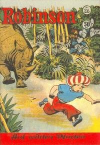 Cover Thumbnail for Robinson (Gerstmayer, 1953 series) #26
