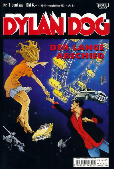 Cover for Dylan Dog (Carlsen Comics [DE], 2001 series) #3 - Der lange Abschied