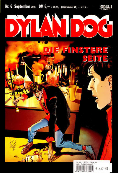 Cover for Dylan Dog (Carlsen Comics [DE], 2001 series) #6