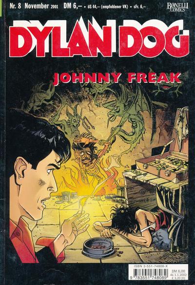 Cover for Dylan Dog (Carlsen Comics [DE], 2001 series) #8 - Johnny Freak