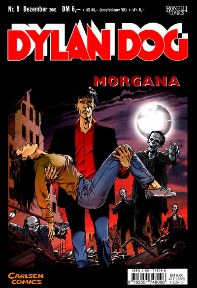 Cover for Dylan Dog (Carlsen Comics [DE], 2001 series) #9