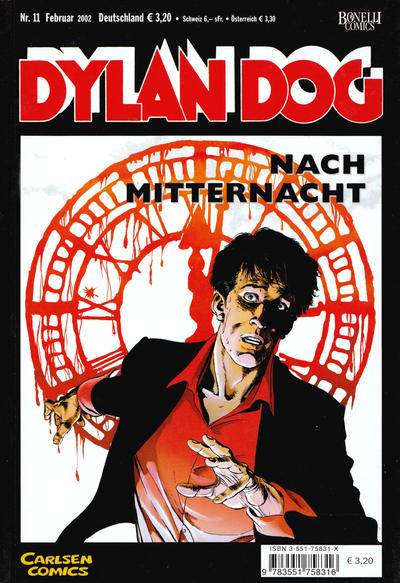 Cover for Dylan Dog (Carlsen Comics [DE], 2001 series) #11
