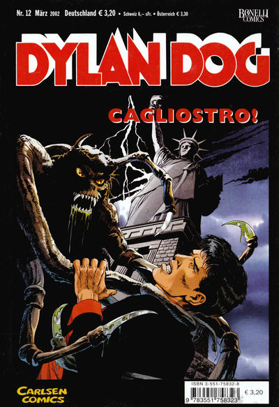 Cover for Dylan Dog (Carlsen Comics [DE], 2001 series) #12