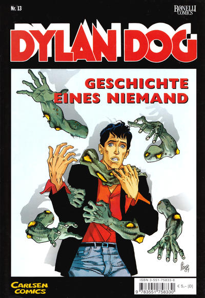 Cover for Dylan Dog (Carlsen Comics [DE], 2001 series) #13
