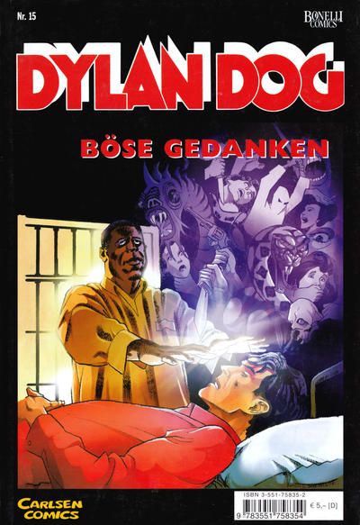 Cover for Dylan Dog (Carlsen Comics [DE], 2001 series) #15