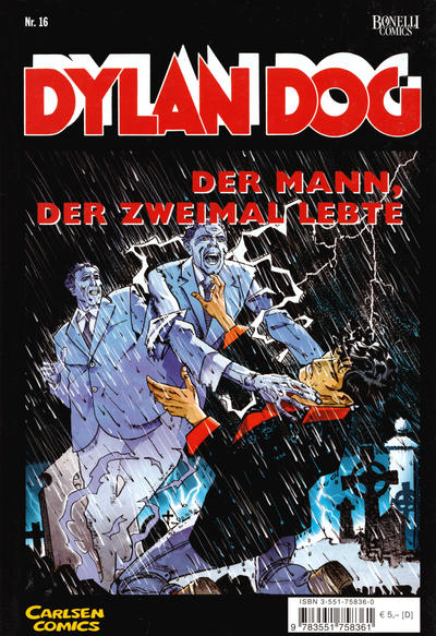Cover for Dylan Dog (Carlsen Comics [DE], 2001 series) #16