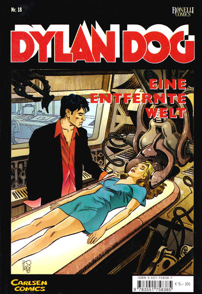 Cover for Dylan Dog (Carlsen Comics [DE], 2001 series) #18