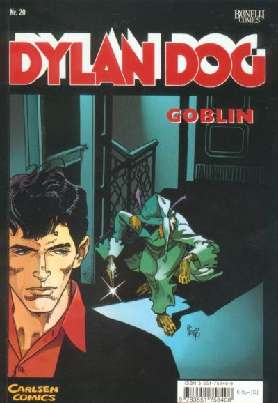 Cover for Dylan Dog (Carlsen Comics [DE], 2001 series) #20