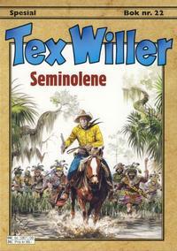 Cover Thumbnail for Tex Willer Spesial (Hjemmet / Egmont, 2000 series) #22 - Seminolene