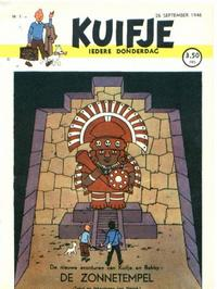 Cover Thumbnail for Kuifje (Le Lombard, 1946 series) #1/1946