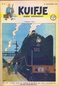Cover Thumbnail for Kuifje (Le Lombard, 1946 series) #9/1946