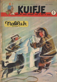 Cover for Kuifje (Le Lombard, 1946 series) #2/1951
