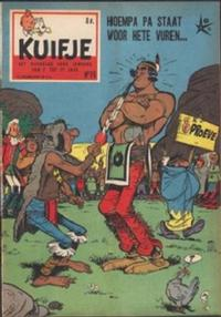 Cover Thumbnail for Kuifje (Le Lombard, 1946 series) #19/1958