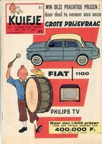 Cover Thumbnail for Kuifje (Le Lombard, 1946 series) #5/1959