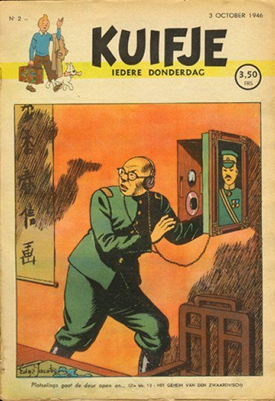 Cover for Kuifje (Le Lombard, 1946 series) #2/1946