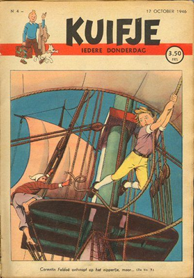 Cover for Kuifje (Le Lombard, 1946 series) #4/1946