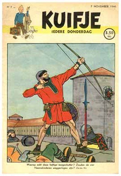Cover for Kuifje (Le Lombard, 1946 series) #7/1946