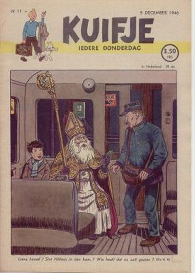 Cover for Kuifje (Le Lombard, 1946 series) #11/1946