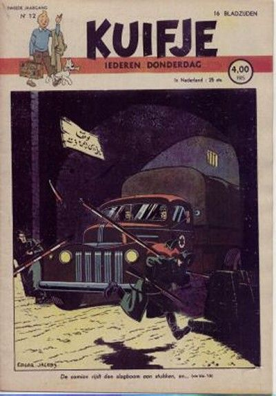 Cover for Kuifje (Le Lombard, 1946 series) #12/1947
